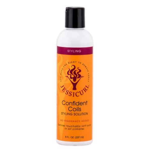 Jessicurls Confident Coils Styling Solution - No Fragrance, 8 oz