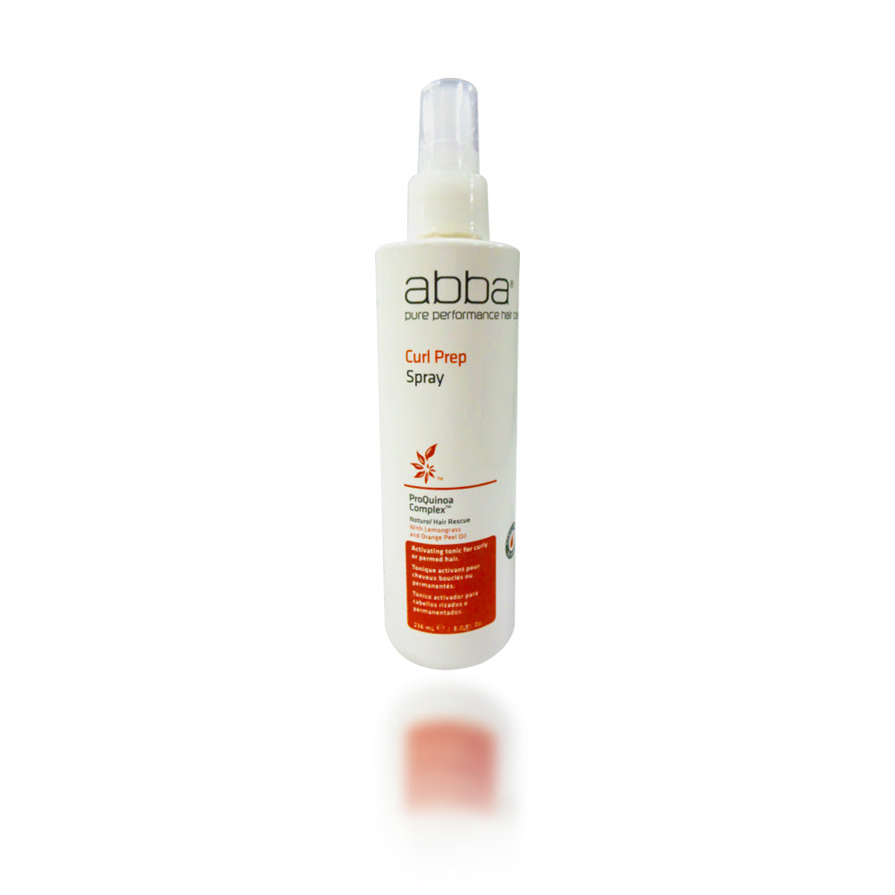 Abba Curl Prep Spray, 8 oz