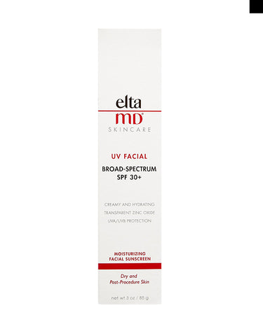 EltaMD UV Facial Broad-Spectrum SPF 30+ Moisturizing Facial Sunscreen, 85 g / 3 oz