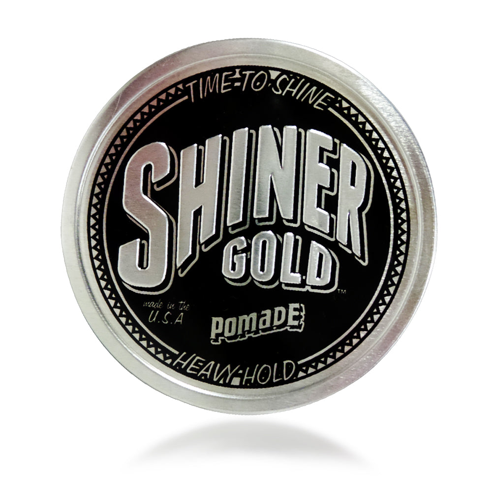 Shiner Gold Heavy Hold Pomade 4 oz