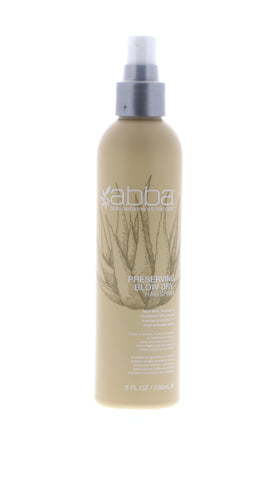 Abba Preserving Blow Dry Spray, 8 oz