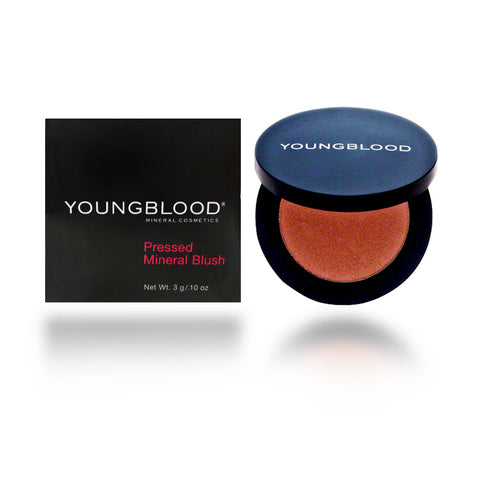 Youngblood Pressed Mineral Blush, Sugar Plum, 3 Gram / 0.10 oz
