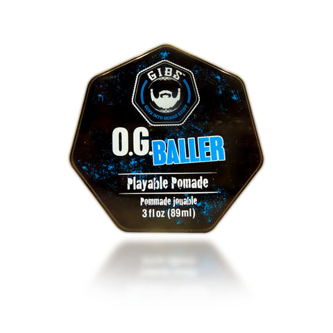 Gibs OG Baller Playable Pomade, 3 oz