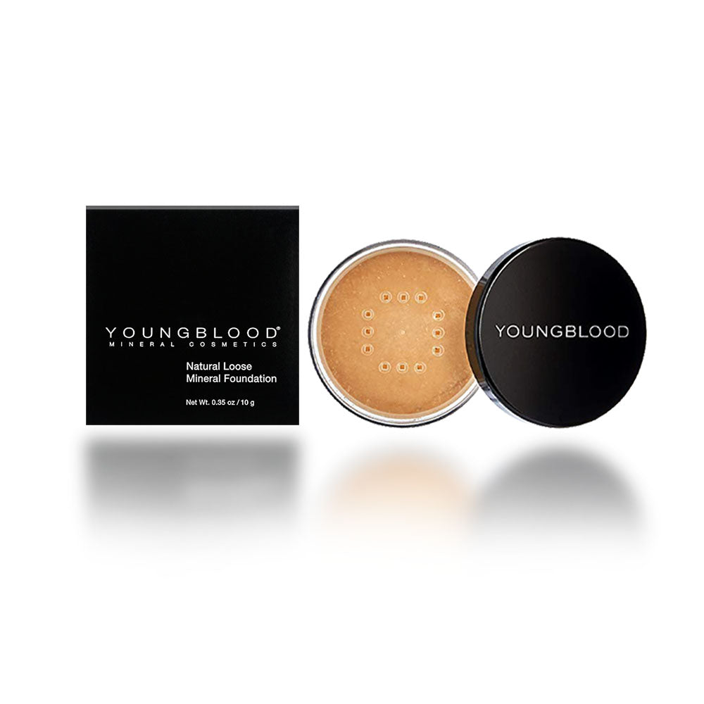 Youngblood Loose Mineral Foundation, Barely Beige, 10 Gram/0.35oz