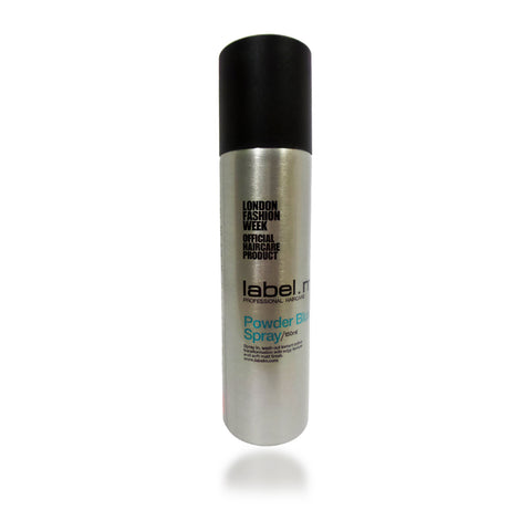 Label. M Powder Blue Spray 150 ml / 5 oz