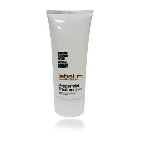 Label. M Peppermint Treatment, 150 ml / 5 oz