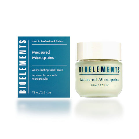 Bioelements Measured Micrograins and R 2.5 oz.