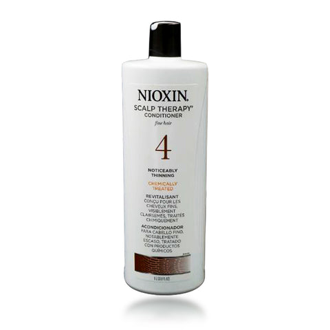Nioxin System 4 Scalp Therapy Conditioner, 33.8 oz