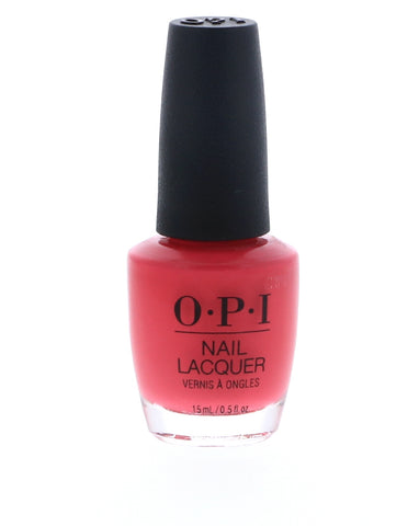OPI Charged Up Cherry Nail Polish, 15 ml / 0.5 oz