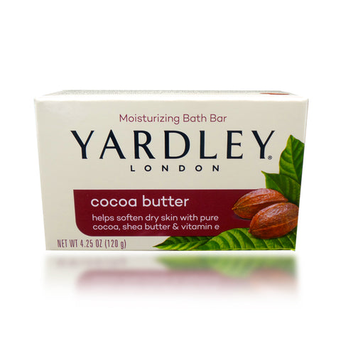 Yardley Cocoa Butter Bath Bar, 4.25 oz