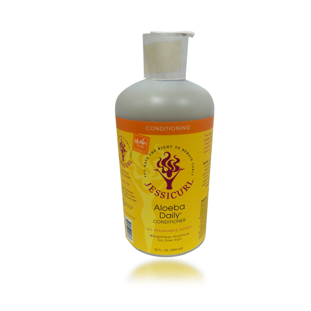 Jessicurls Aloeba Daily Conditioner - No Fragrance, 32 oz