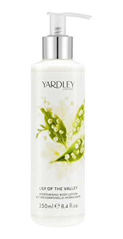 Yardley Lily of the Valley Luxury Body Wash, 8.4 oz
