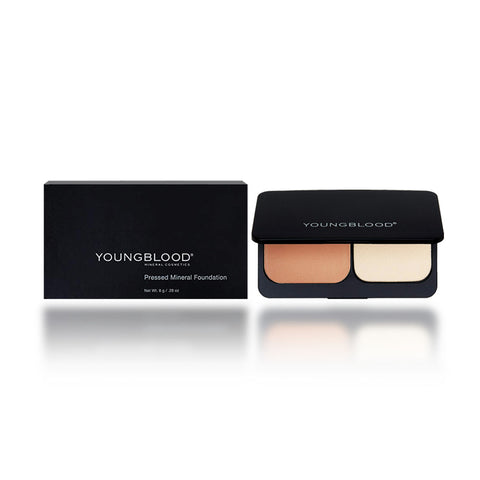 Youngblood Pressed Mineral Foundation, Rose Beige, 8 Gram