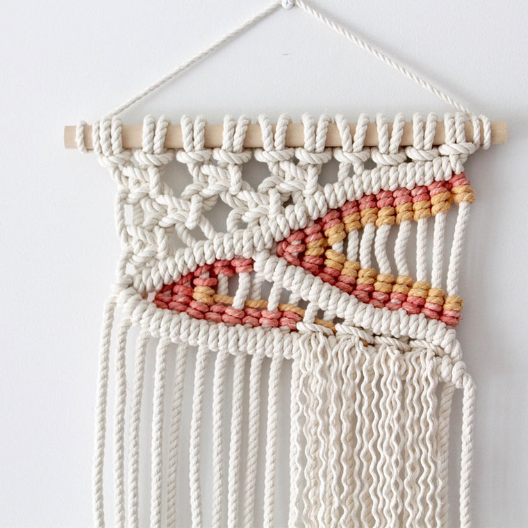 Sunset Macrame Wall Hanging
