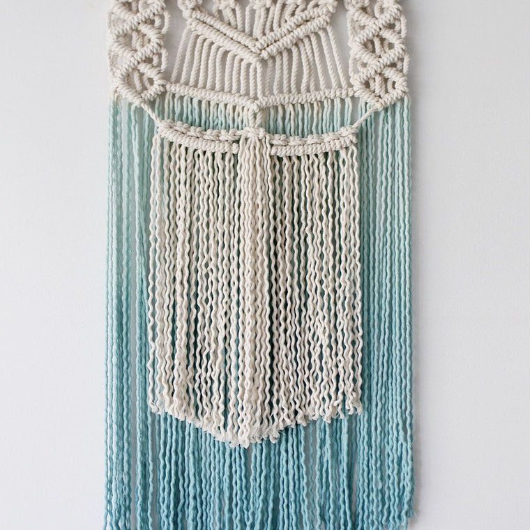 'Ombre Sea' Wall hanging