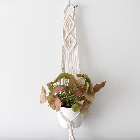 Natural Diamond plant hanger