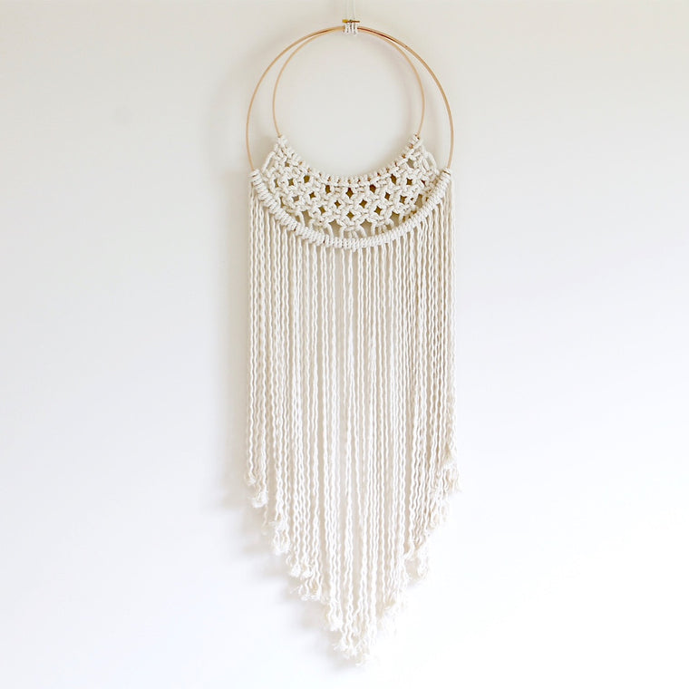 Half Moon Wall hanging
