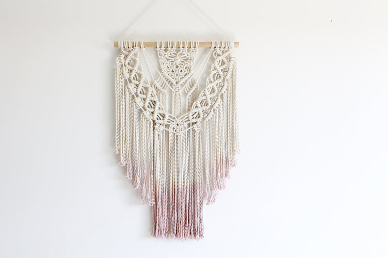 Suspended Moment Macrame Wall Hanging
