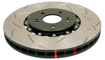 DBA 11-15 Jeep Grand Cherokee Exc. SRT8 Front T3 5000 Series Slotted Rotor w/ Black Hat 350mm