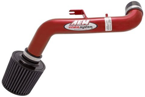 AEM 95-99 Eclipse 2.0 Non-Turbo Red Short Ram Intake