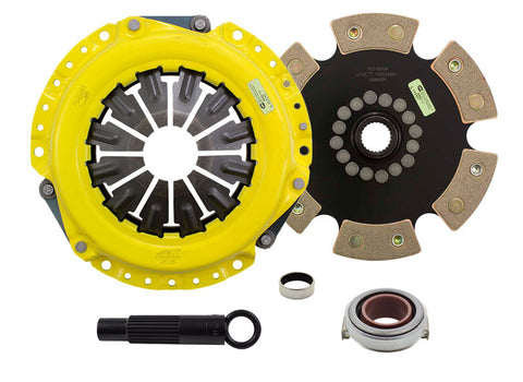 ACT 2002 Acura RSX XT/Race Rigid 6 Pad Clutch Kit