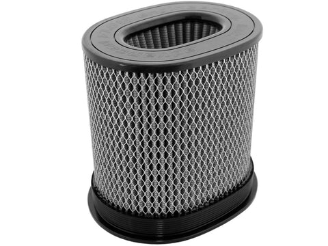 aFe MagnumFLOW HD Air Filters Pro Dry S Oval 7in X 4.75in F 9in X 7in T X 9H