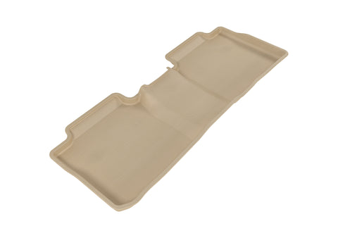 3D MAXpider 2014-2019 Toyota Corolla Kagu 2nd Row Floormats - Tan