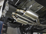 aFe POWER Takeda 2-1/2in to 2-1/4in 304SS Catback Dual-Exit Exhaust 17+ Honda Civic Type R w/CF Tips