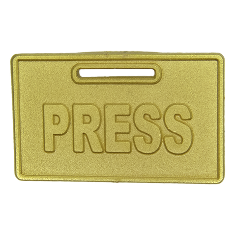 Press Pin, Gold