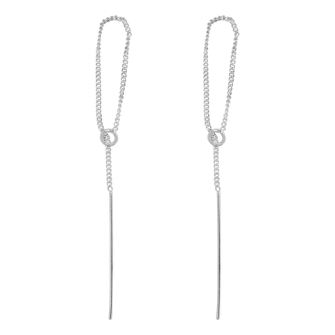 Ring Chain Earring