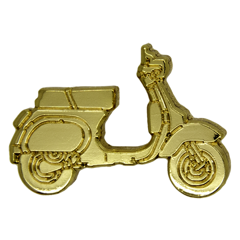 Scooter Pin, Gold
