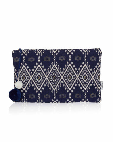 Large Woven Pouch