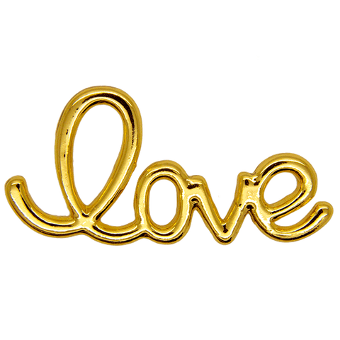 Love Pin, Gold Curve