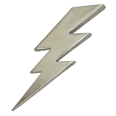 Lighting Pin 3D, Silver