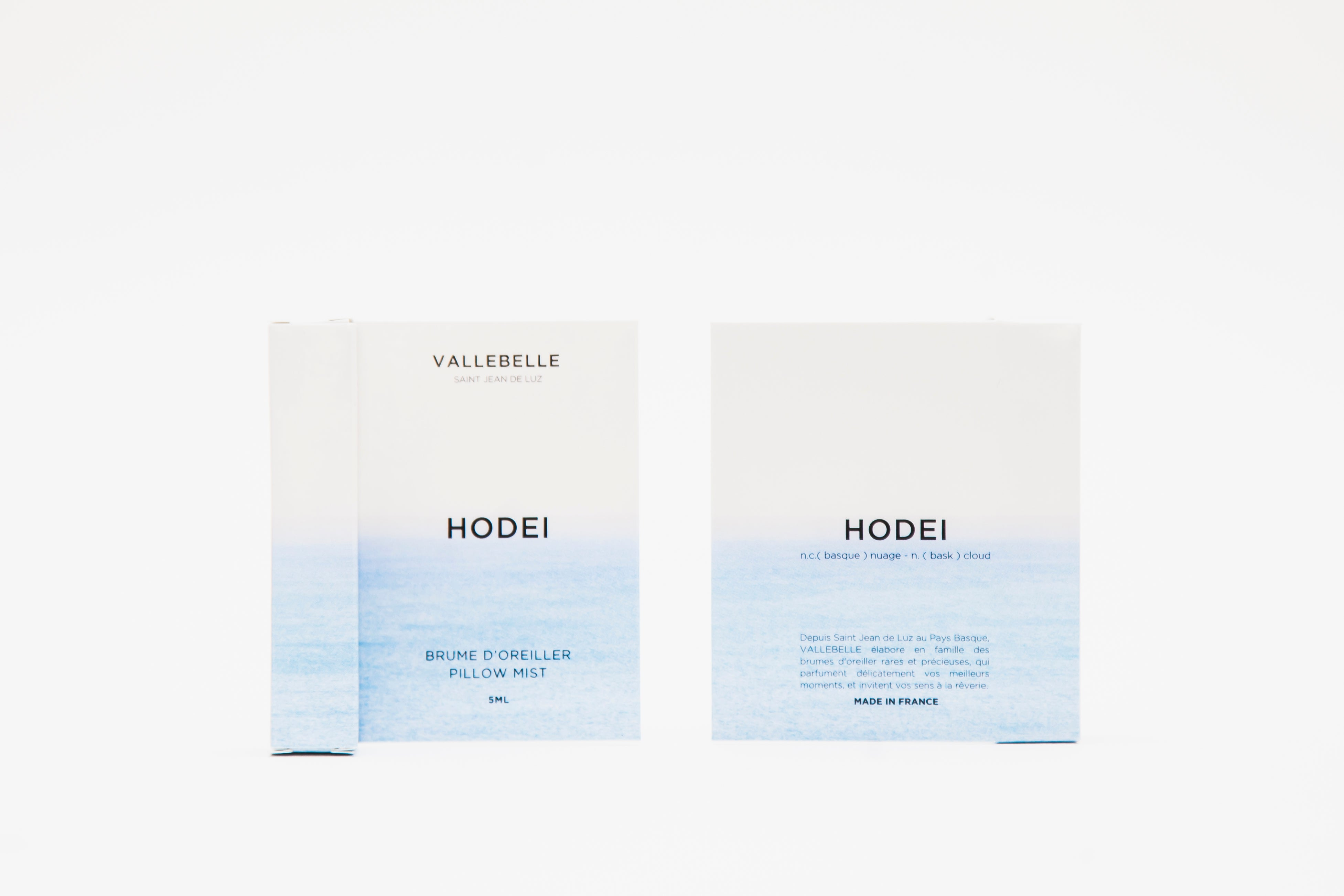 Brume de linge HODEI travel size 5 ml
