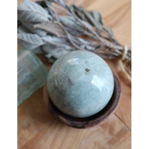 Aquamarine Sphere 54mm