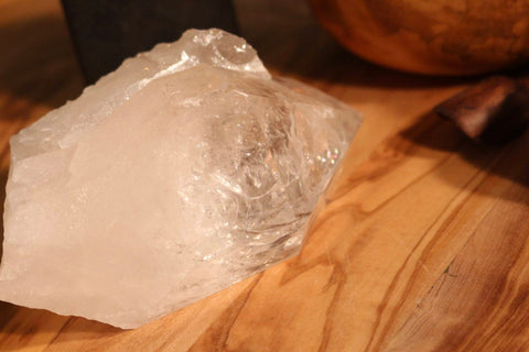 Large Clear Quartz Point Cluster 4.75""