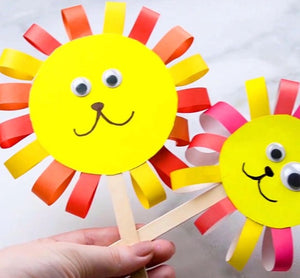 5 Steps to Make Ribbon Lion Puppet for Your Kids