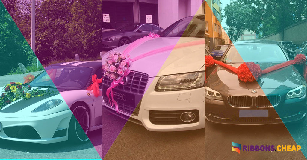 6 Fabulous Wedding Car Decoration Ideas That You Can Consider