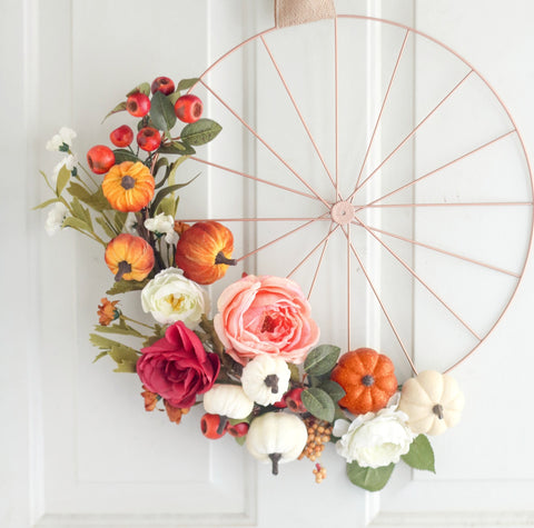 Spruce Up a Simple Wreath