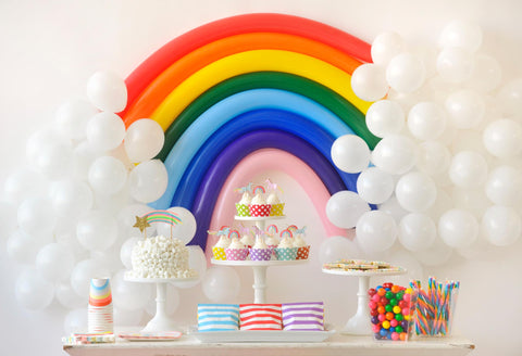 A Rainbow Birthday Party