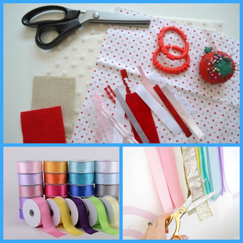 Easy DIY of Ribbon Rainbow Wall Hanging Step 2