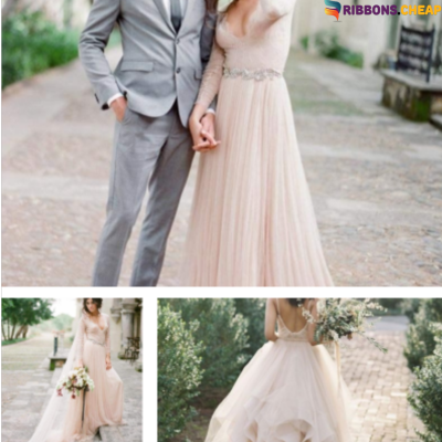 The Best Choice for Minimalistic Wedding Dress