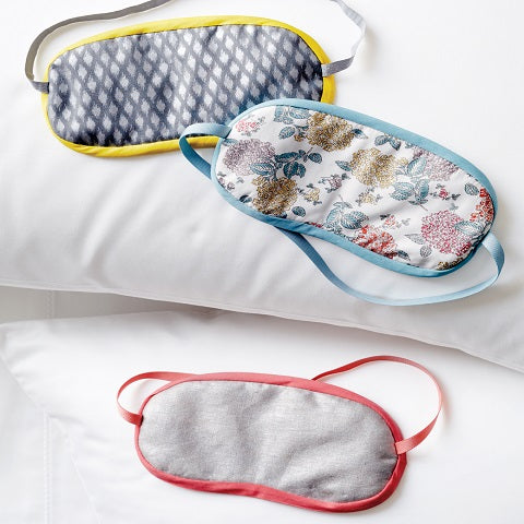 How to Make Sleepy Eye Mask with Organza Fabric