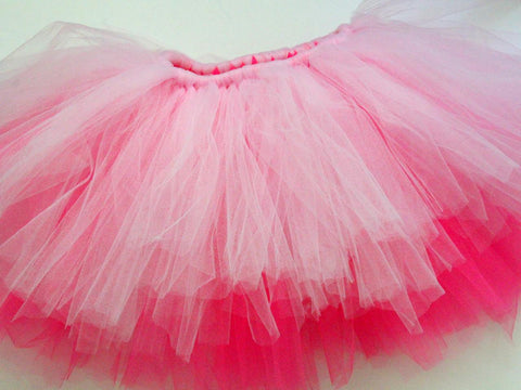 A Skirt From Tulle Fabric