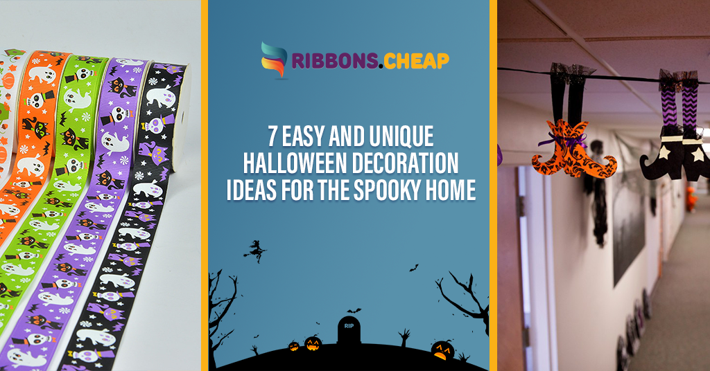7 Easy and Unique Halloween Decoration Ideas for the Spooky Home