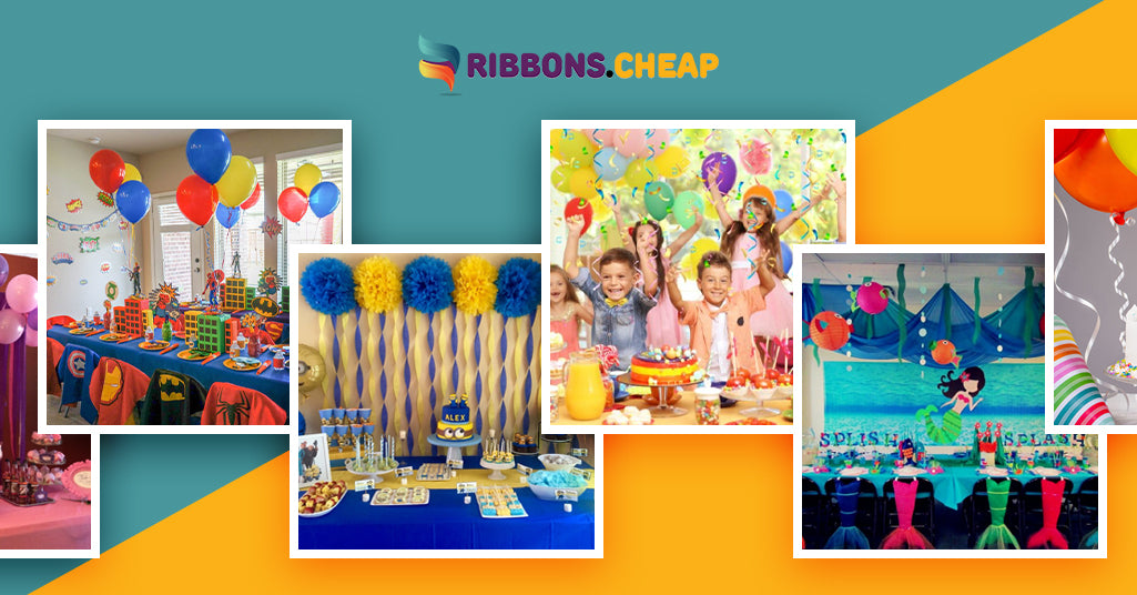 9 Amazing Party Themes to Make Your Kid's Birthday Special