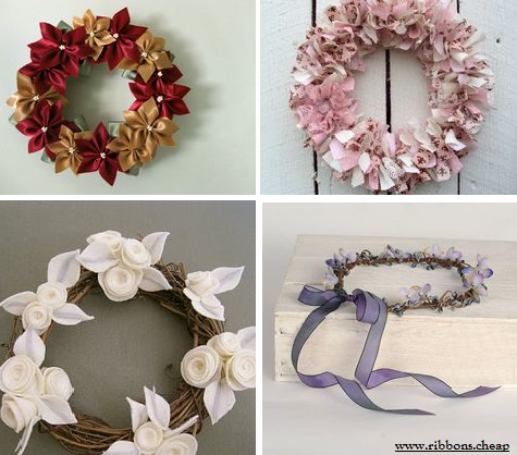 How to Make DIY Swappable Flower Cluster Wreath