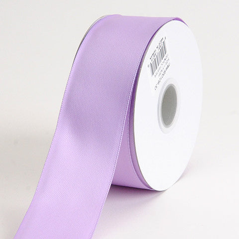 Satin Ribbon Wire Edge Lavender ( W: 1-1/2 inch | L: 25 Yards ) -
