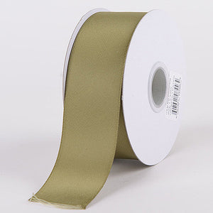 Satin Ribbon Double Face Spring Moss ( W: 1-1/2 inch | L: 25 Yards ) -